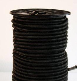 03 Gummispannseile - 4 mm - 95 bis 100 Meter - schwarz