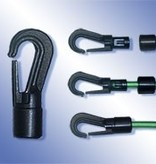 11 Plastic hook for 8 mm cord