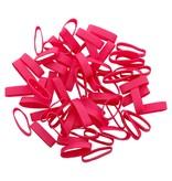 Pink B.08 Rosa gummibänder 90 mm, Breite 2 mm