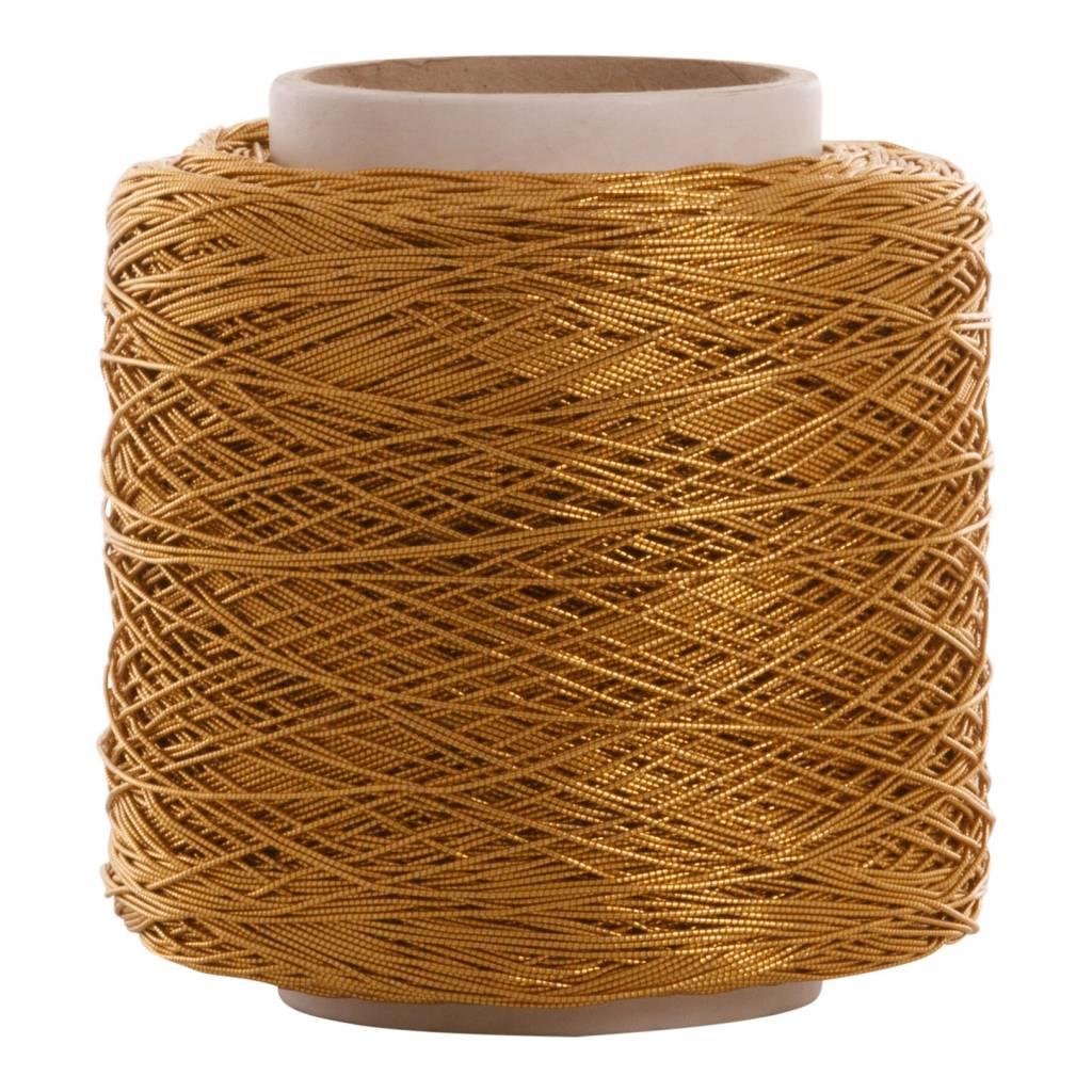 08 Cord elastic band - 1 mm - Gold