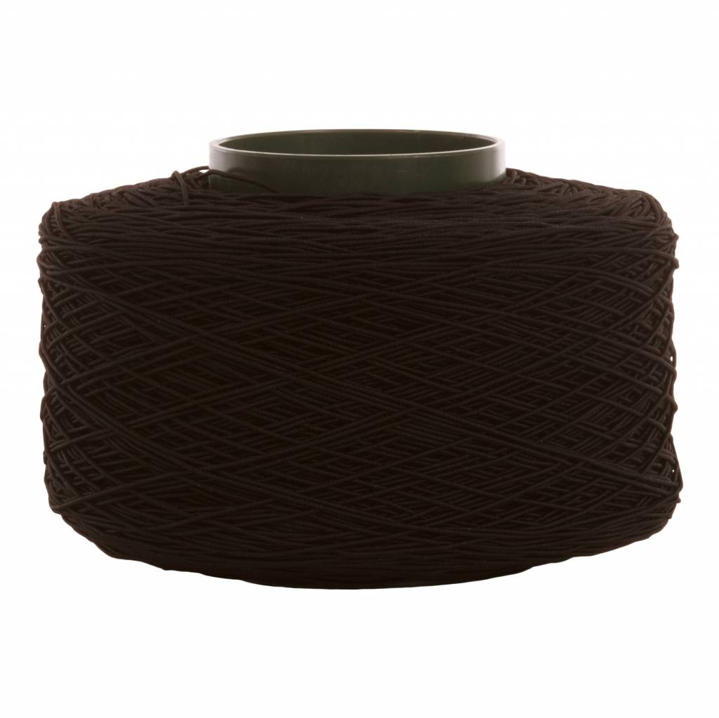 01 Cord elastic band - 1 mm - black
