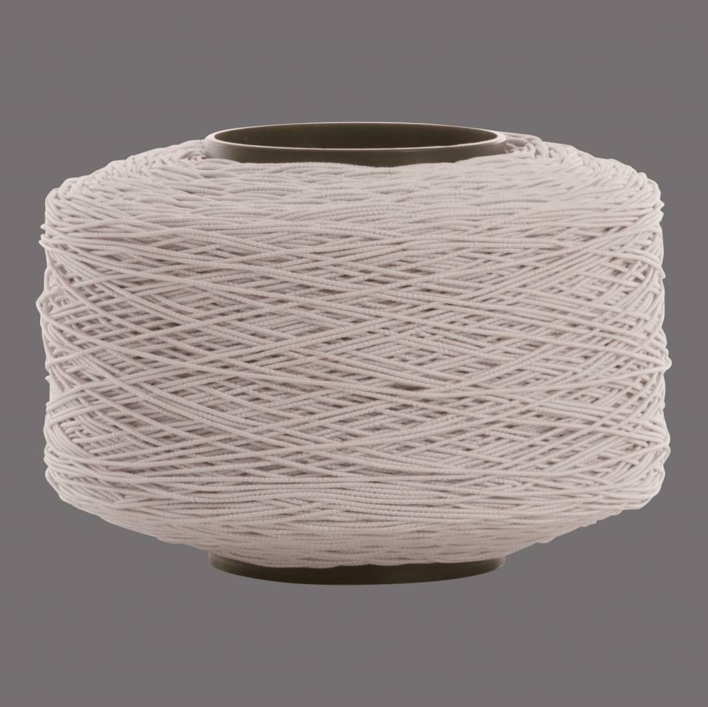 01 Cord elastic band - 1 mm - White