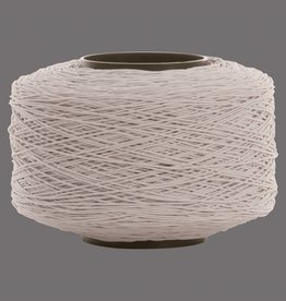 01 Cord elastic band - 1 mm - White