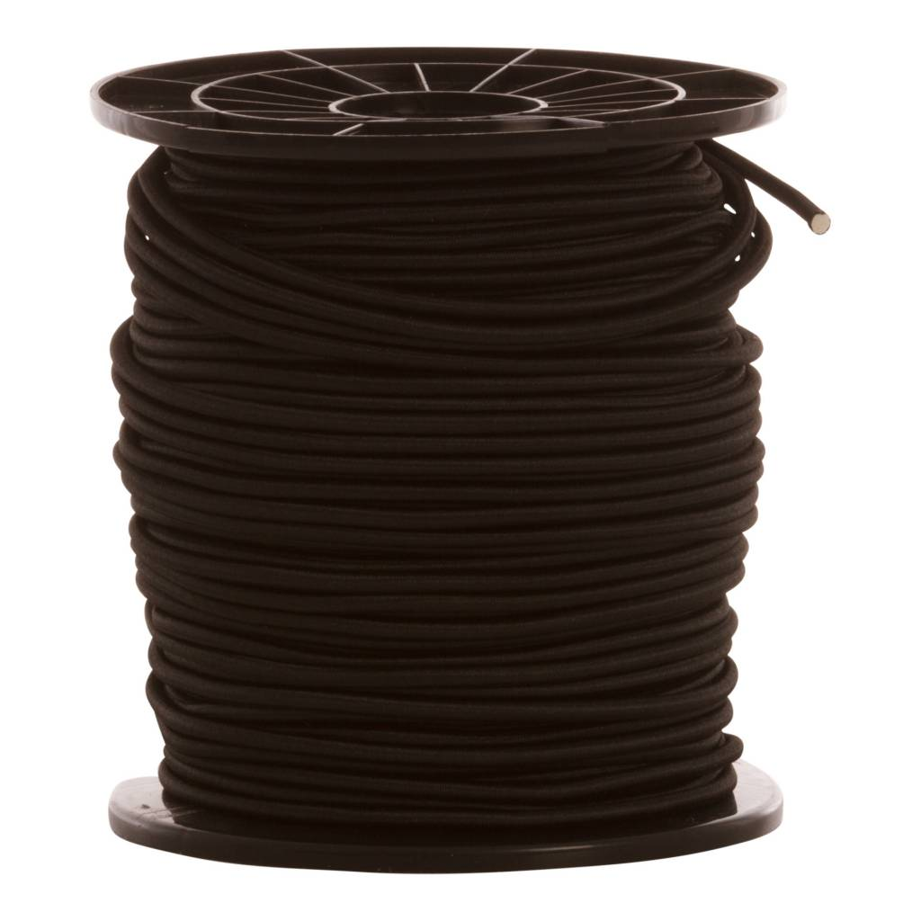 12 Corde de trampoline 10 mm - 95 à 100 mètres - noir