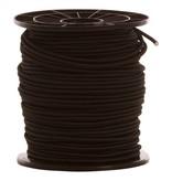 12 Gummispannseile - 10 mm - 95 bis 100 Meter - schwarz