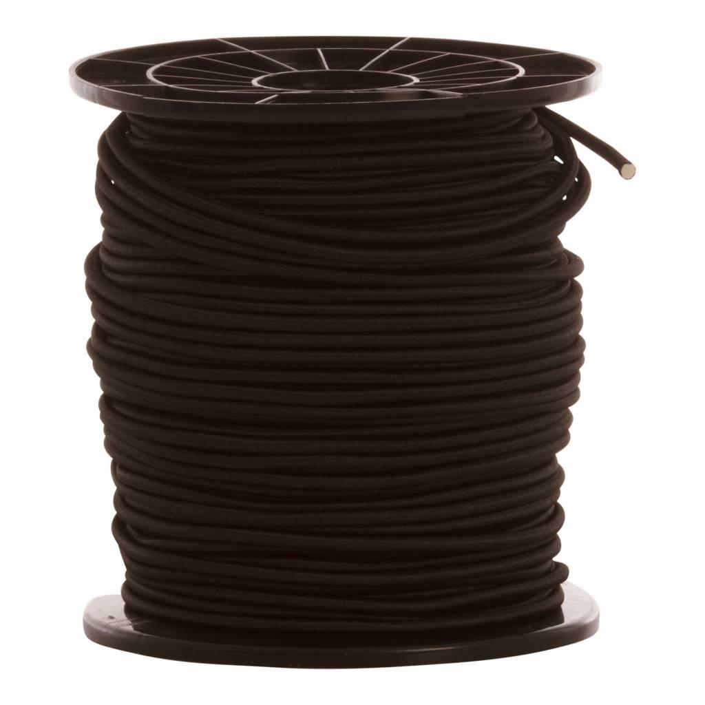 09 Trampoline koord - 8 mm - 95 tot 100 meter - zwart