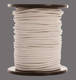 08 Gummispannseile - 6 mm - 95 bis 100 Meter - Weiß