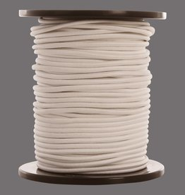 08 Trampoline cord - 6 mm - 95 to 100 meters - white