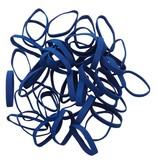 Dark blue D.15 Dark blue elastic band Length 140 mm, Width 2 mm