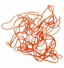 Orange 01 Orange elastic band Length 50 mm, Width 2 mm