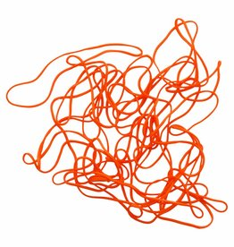 Orange 10 Orange élastique Longueur 90 mm, Largeur 6 mm