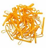 Yellow L.17 Geel elastiek Lengte 140 mm, Breedte 6 mm