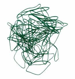 Green 03 Green elastic band  50 mm, Width 6 mm