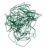 Green G.15 Groen elastiek Lengte 140 mm, Breedte 2 mm