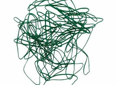 Groen elastiek