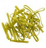 Lime green I.16 Limegreen elastic band Length 140 mm, Width 4 mm