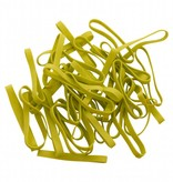 Lime green I.02 Limegreen elastic band Length 50 mm, Width 4 mm
