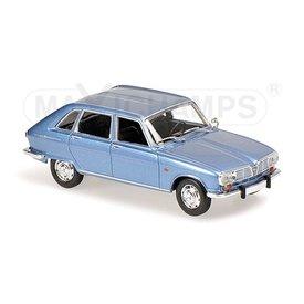 Maxichamps Renault 16 1965 bright blue metallic 1:43