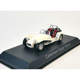 Norev Caterham Super Seven 1979 wit - Modelauto 1:43