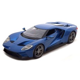 Maisto Ford GT 2017 blauw - Modelauto 1:18