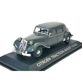 Atlas Citroën Traction Avant 15 Six grey - Model car 1:43