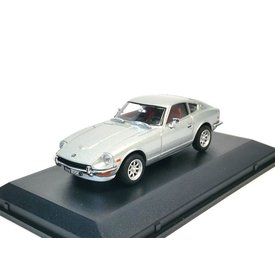 Oxford Diecast Datsun 240Z silver - Model car 1:43