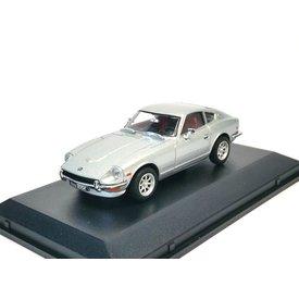 Oxford Diecast Datsun 240Z zilver 1:43