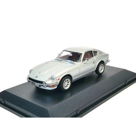 Datsun 240Z zilver - Modelauto 1:43