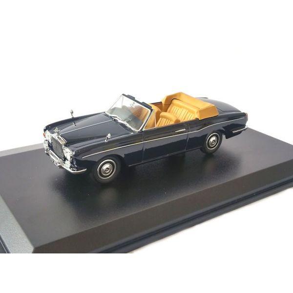Model car Rolls Royce Corniche Convertible Indigo blue 1:43