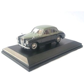 Oxford Diecast MG Magnette ZB grijs/donkergrijs - Modelauto 1:43