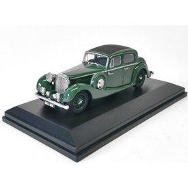 Oxford Diecast Jaguar SS 2.5 Saloon groen - Modelauto 1:43