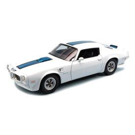 Welly Pontiac Firebird Trans Am 1972 wit - Modelauto 1:24