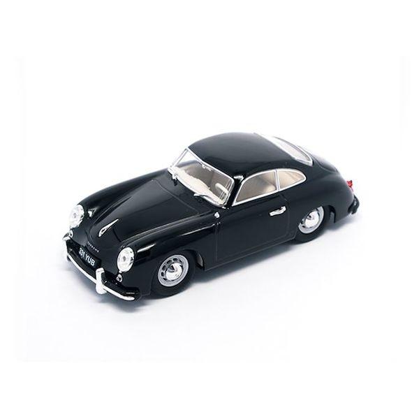 Modelauto Porsche 356 1952 zwart 1:43