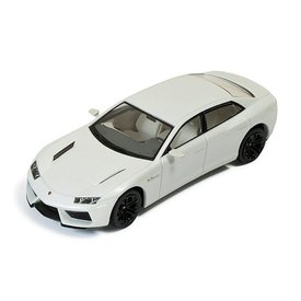 Ixo Models Lamborghini Estoque 2008 white - Model car 1:43