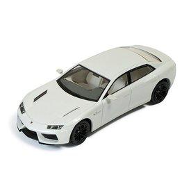 Ixo Models Lamborghini Estoque 2008 wit - Modelauto 1:43