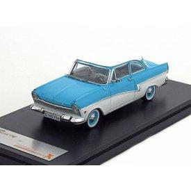 Premium X Ford Taunus 17M 1957 blauw/wit 1:43