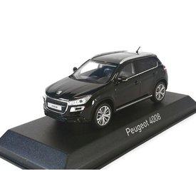 Norev Peugeot 4008 2012 zwart - Modelauto 1:43