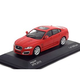 WhiteBox Jaguar XFR 2010 rood - Modelauto 1:43
