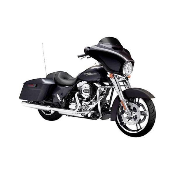 Modell-Motorrad Harley-Davidson Street Glide Special 2015 schwarz 1:12