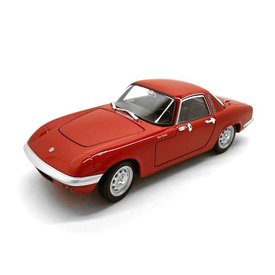 Welly Lotus Elan 1965 rood - Modelauto 1:24