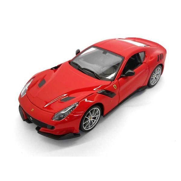 Modelauto Ferrari F12 tdf rood 1:24