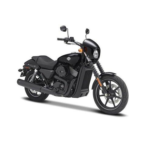 Harley Davidson Street 750 2015 zwart - Modelmotor 1:12