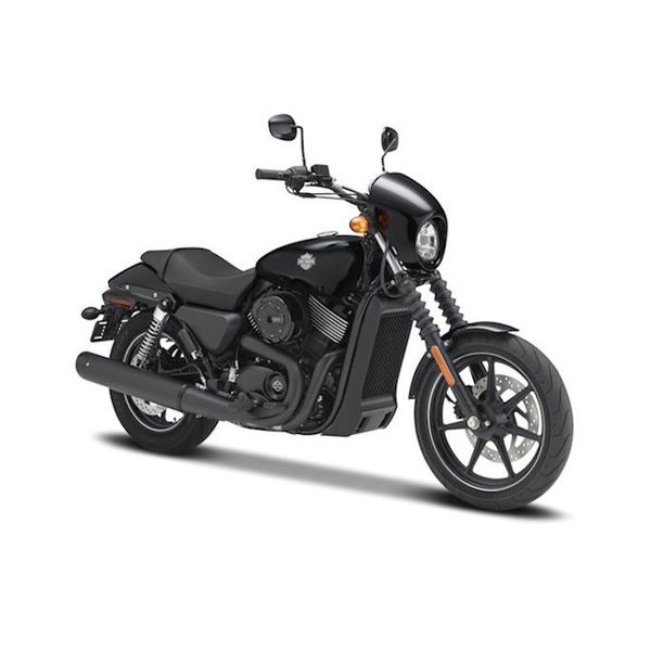 Modelmotor Harley Davidson Street 750 2015 zwart 1:12   Maisto