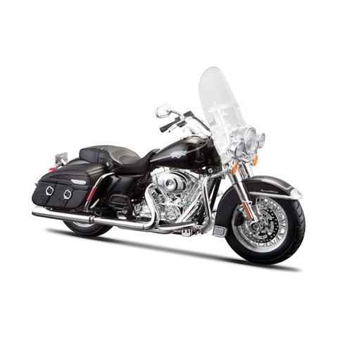 Harley-Davidson FLHRC Road King Classic 2013 zwart - Modelmotor 1:12