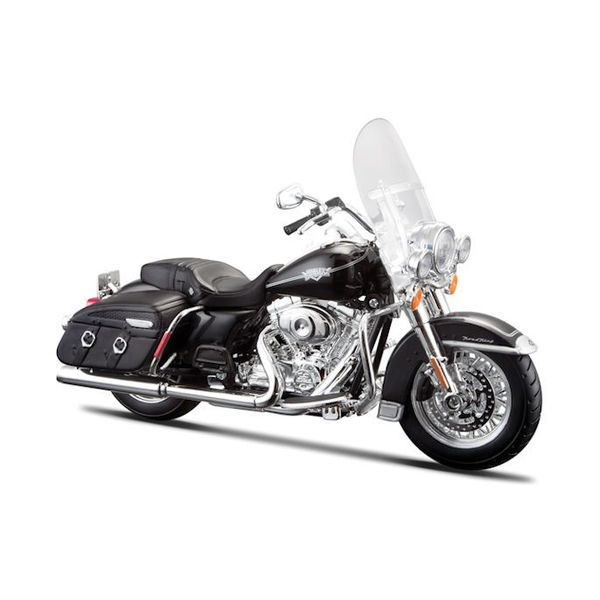 Modelmotor Harley-Davidson FLHRC Road King Classic 2013 zwart 1:12 | Maisto