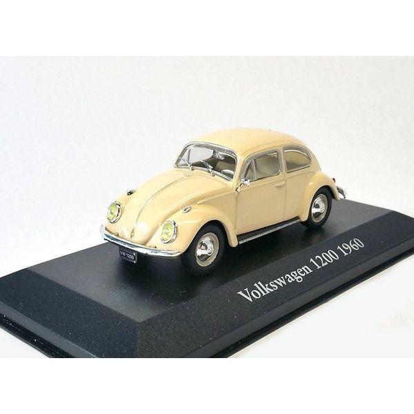 Model car Volkswagen VW Beetle 1200 1960 cream 1:43