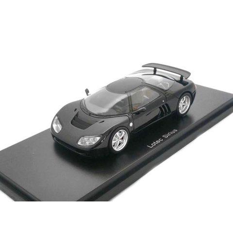 Lotec Sirius zwart - Modelauto 1:43