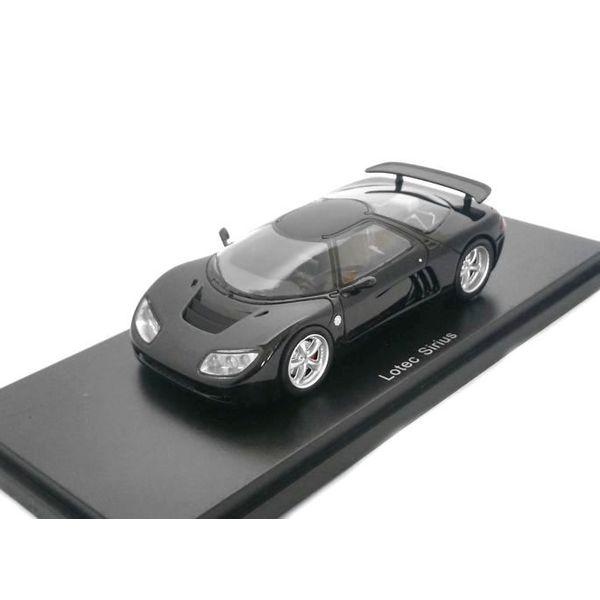 Modellauto Lotec Sirius schwarz 1:43