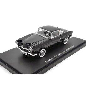 BoS Models | Modelauto Rometsch Lawrence Coupe 1959 zwart 1:43
