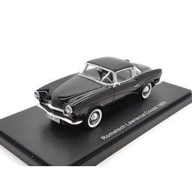 BoS Models Rometsch Lawrence Coupe 1959 zwart 1:43
